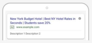 Responsive Search Ads Example